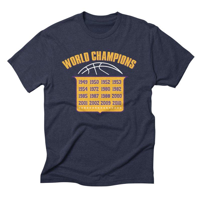 World Champions Men's Triblend T-Shirt by lakersnation's Artist Shop