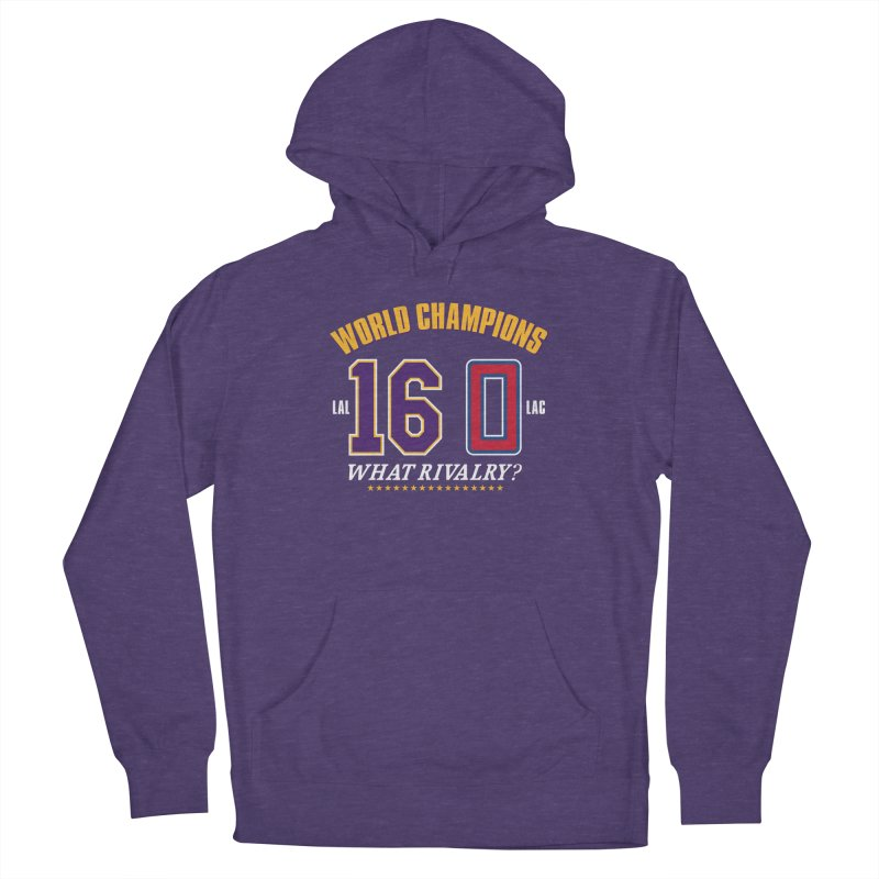 What Rivalry? Women's Pullover Hoody by Lakers Nation's Artist Shop
