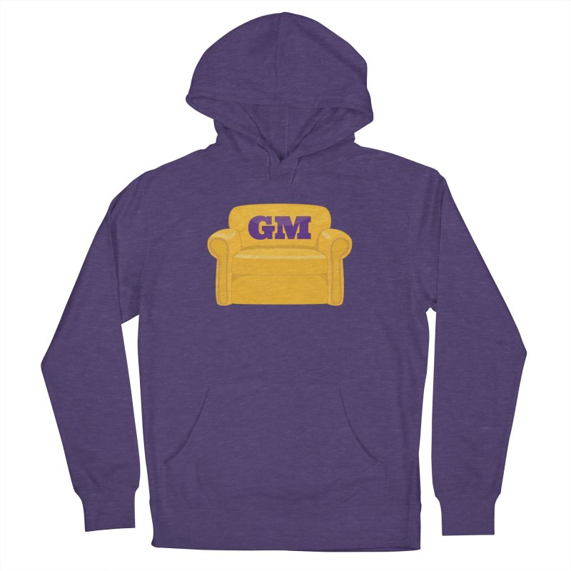 Armchair GM Men's French Terry Pullover Hoody by Lakers Nation's Artist Shop