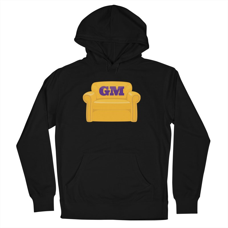 Armchair GM Men's French Terry Pullover Hoody by lakersnation's Artist Shop