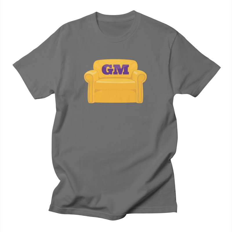 Armchair GM Men's Regular T-Shirt by Lakers Nation's Artist Shop