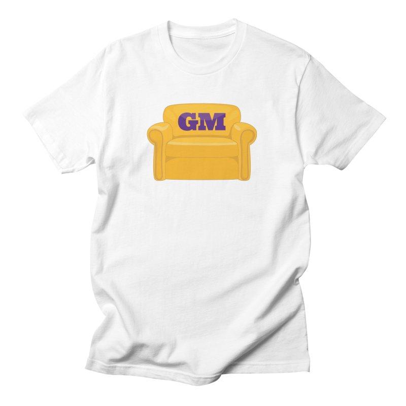 Armchair GM Men's Regular T-Shirt by lakersnation's Artist Shop