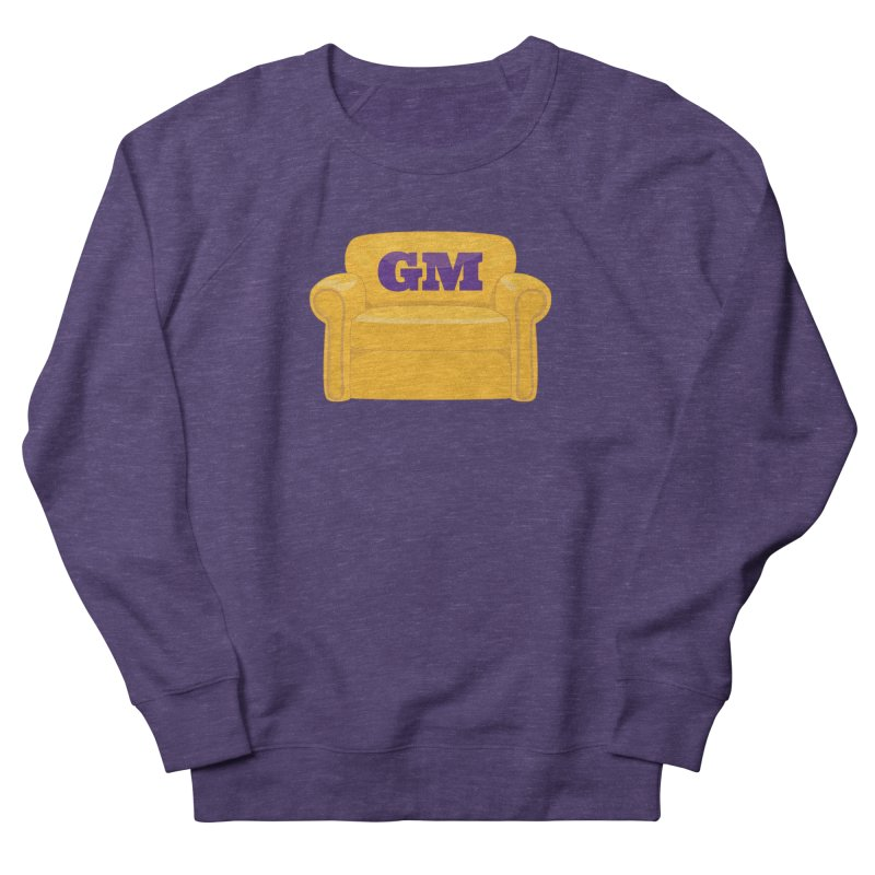 Armchair GM Men's French Terry Sweatshirt by Lakers Nation's Artist Shop
