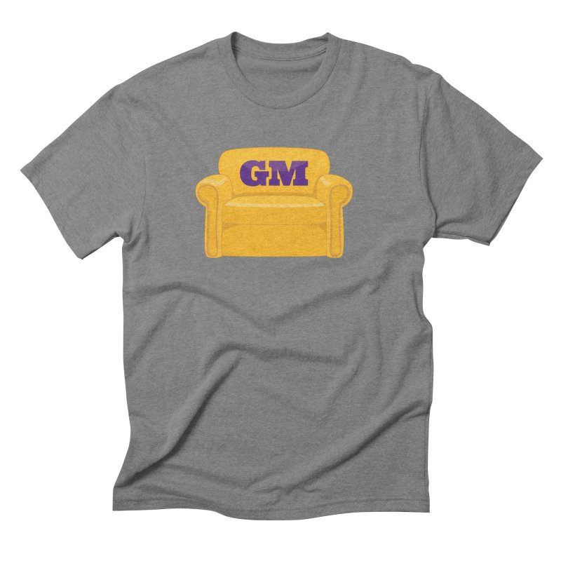 Armchair GM Men's Triblend T-Shirt by Lakers Nation's Artist Shop