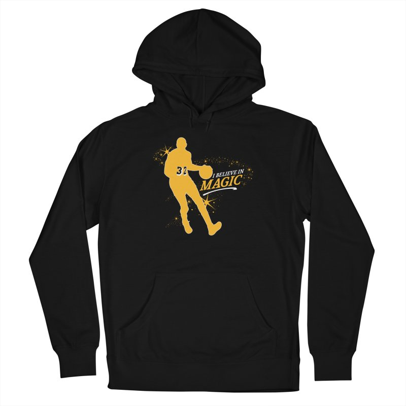 I Believe in Magic Men's Pullover Hoody by Lakers Nation's Artist Shop