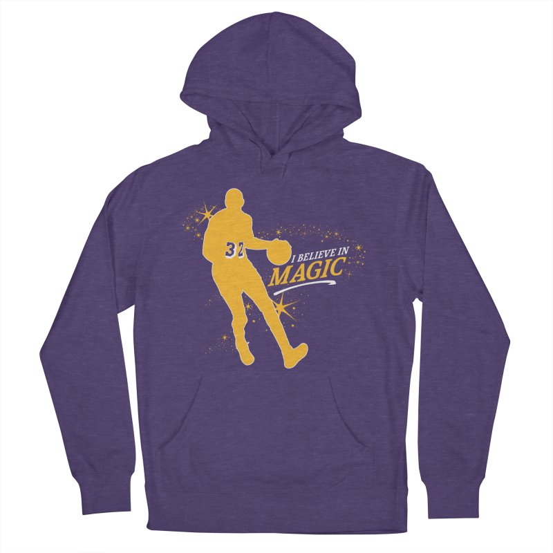 I Believe in Magic Men's French Terry Pullover Hoody by lakersnation's Artist Shop