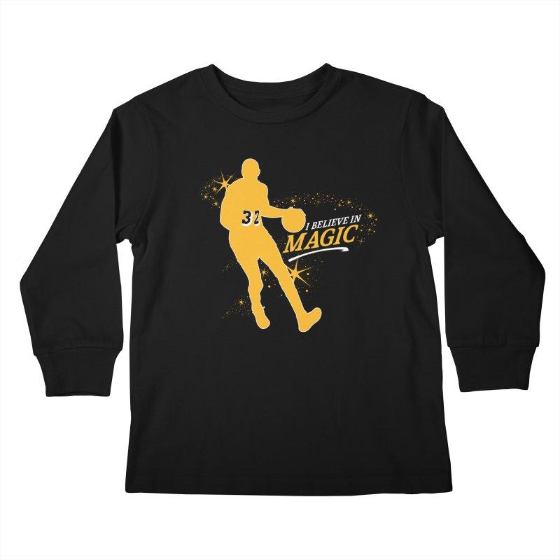 I Believe in Magic Kids Longsleeve T-Shirt by lakersnation's Artist Shop