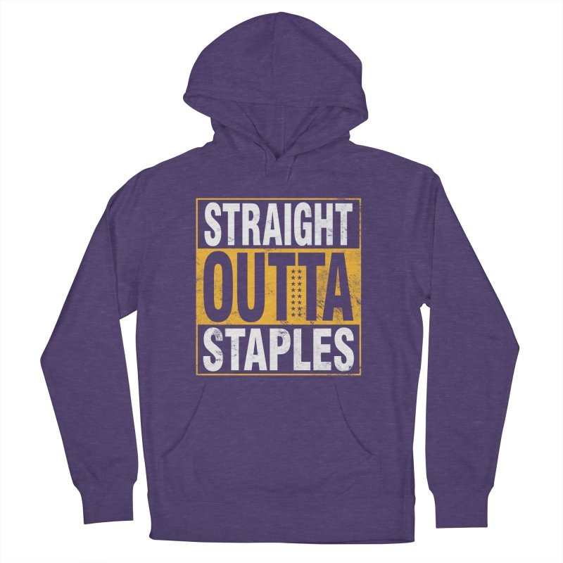 Straight Outta Staples Women's French Terry Pullover Hoody by lakersnation's Artist Shop