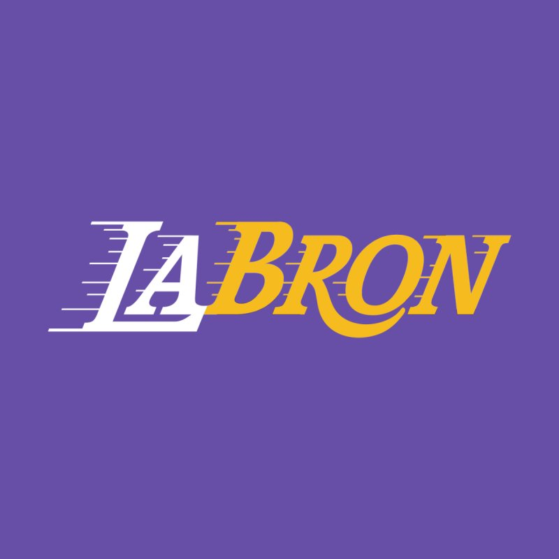 LaBron Men's T-Shirt by Lakers Nation's Artist Shop
