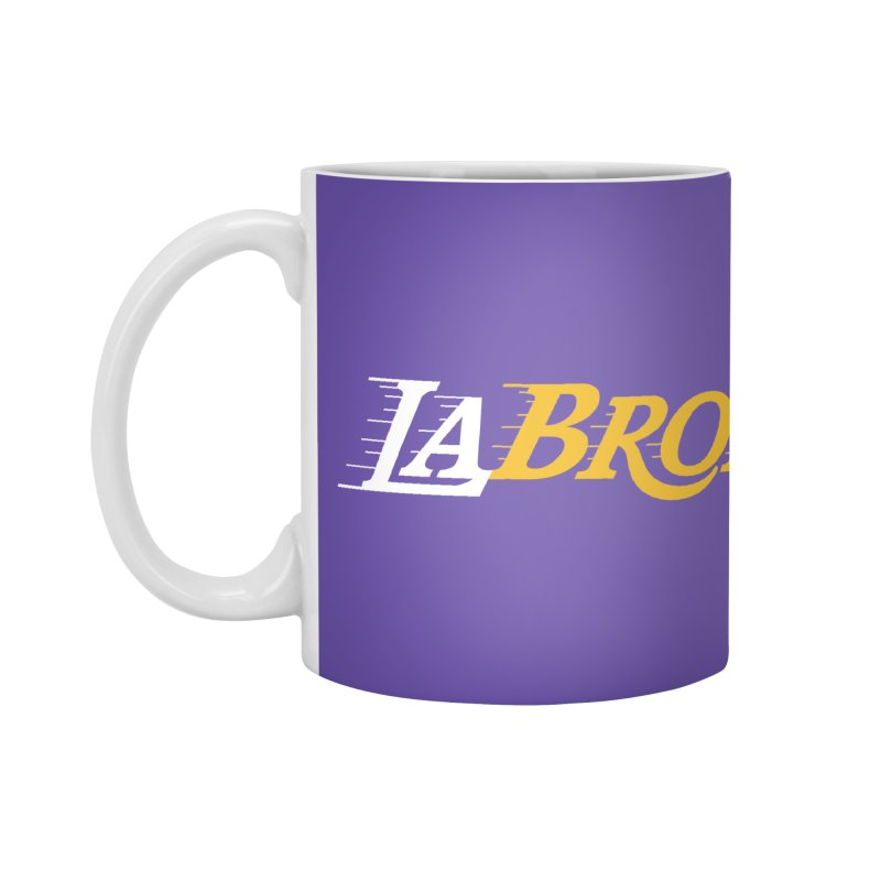LaBron Accessories Mug by Lakers Nation's Artist Shop