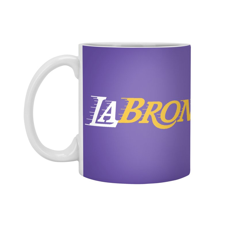 LaBron Accessories Standard Mug by Lakers Nation's Artist Shop