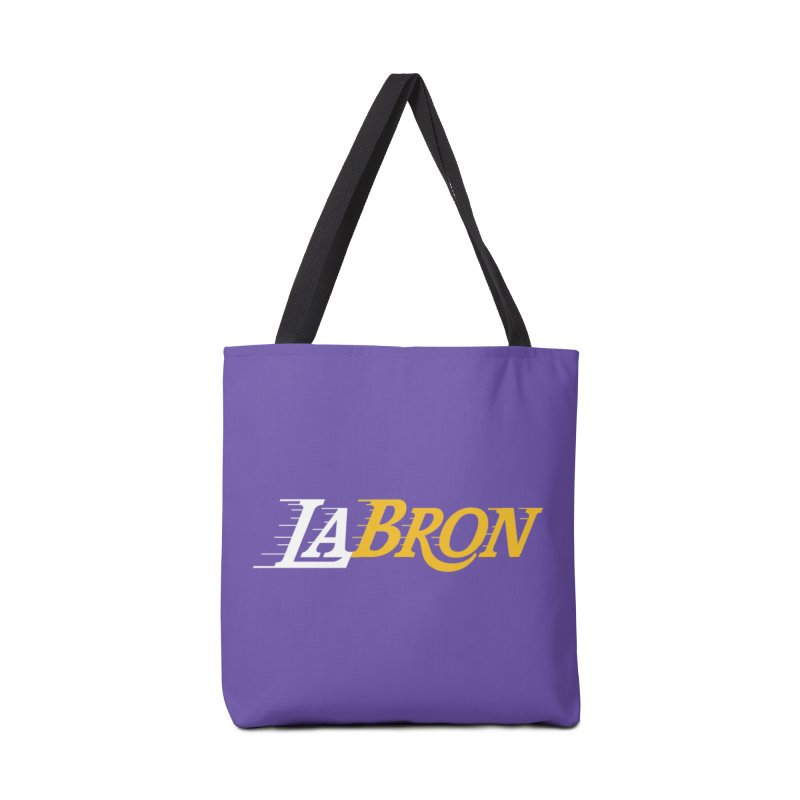 LaBron Accessories Tote Bag Bag by Lakers Nation's Artist Shop