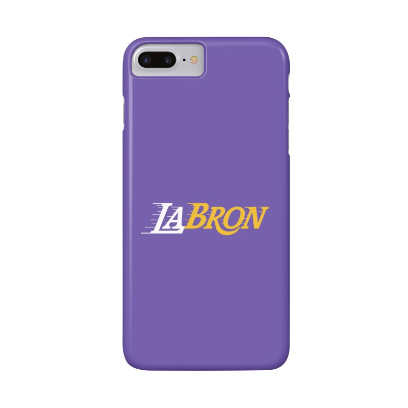 LaBron Accessories Phone Case by Lakers Nation's Artist Shop