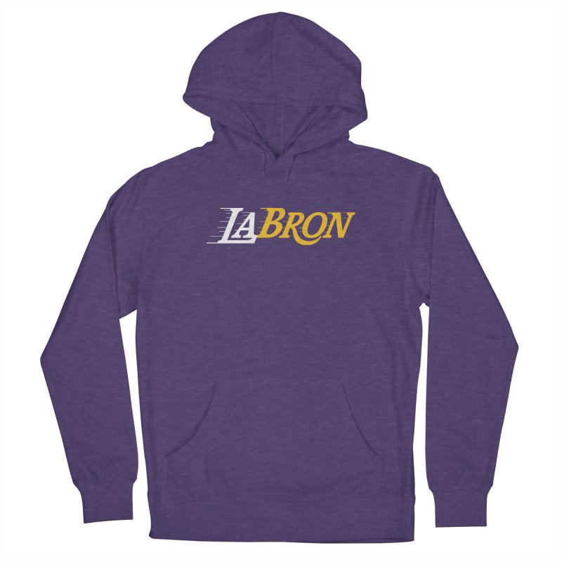 LaBron Women's French Terry Pullover Hoody by Lakers Nation's Artist Shop