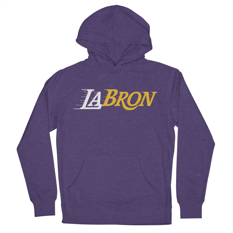 LaBron Men's French Terry Pullover Hoody by Lakers Nation's Artist Shop