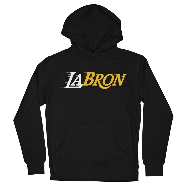 LaBron Men's French Terry Pullover Hoody by lakersnation's Artist Shop
