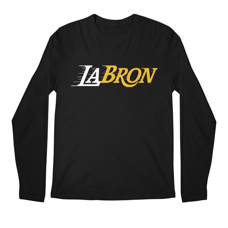 LaBron Men's Regular Longsleeve T-Shirt by Lakers Nation's Artist Shop