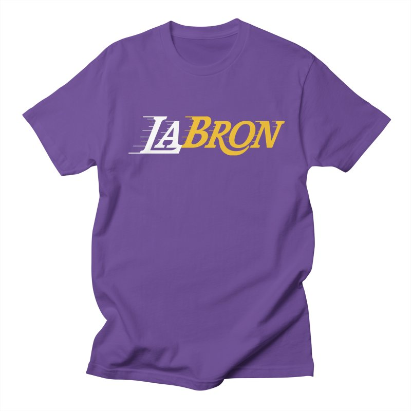LaBron Men's Regular T-Shirt by Lakers Nation's Artist Shop