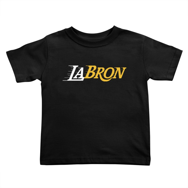 LaBron Kids Toddler T-Shirt by Lakers Nation's Artist Shop