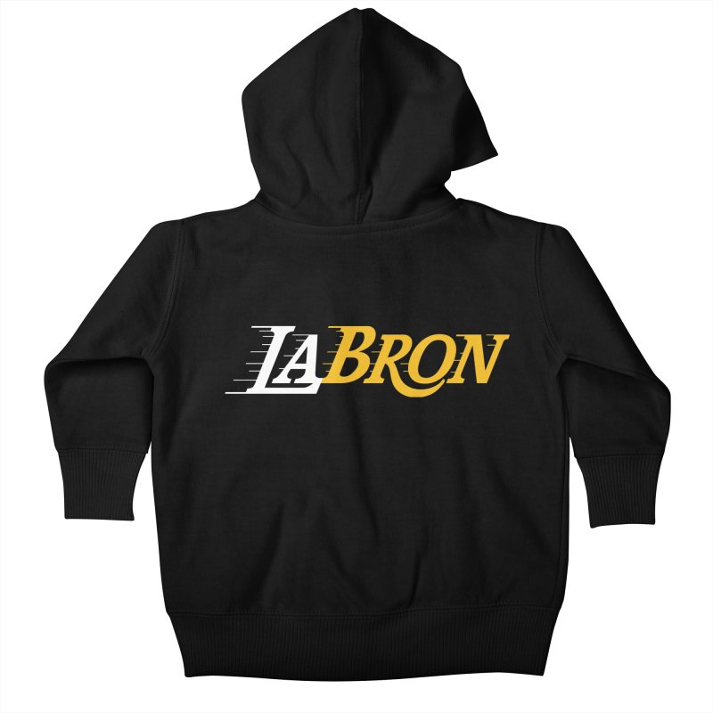 LaBron Kids Baby Zip-Up Hoody by lakersnation's Artist Shop