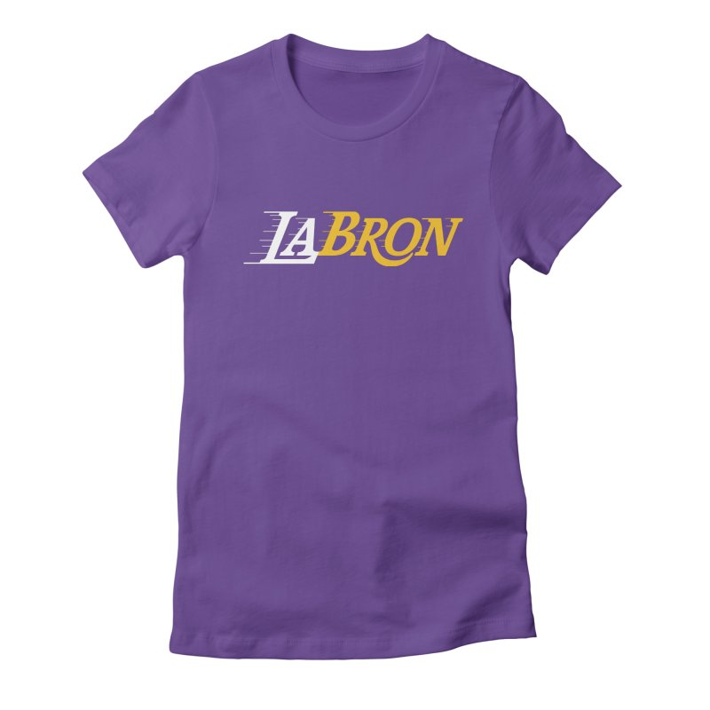 LaBron Women's T-Shirt by Lakers Nation's Artist Shop