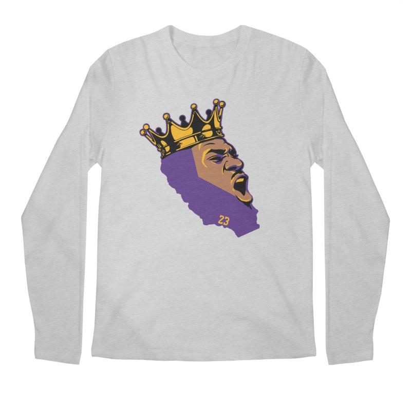 California King Men's Regular Longsleeve T-Shirt by lakersnation's Artist Shop