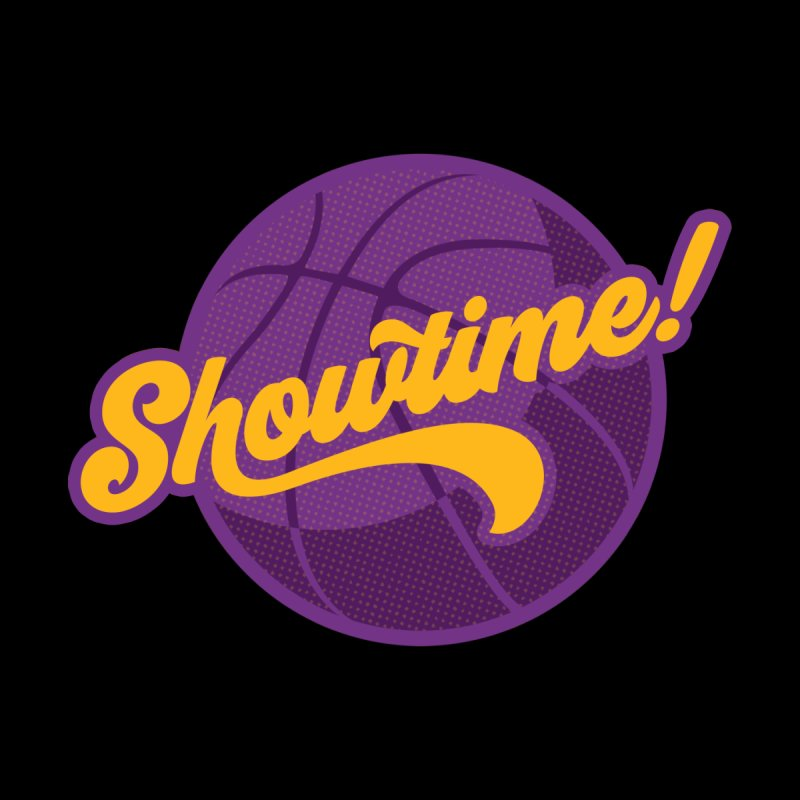 Showtime! Men's Longsleeve T-Shirt by Lakers Nation's Artist Shop