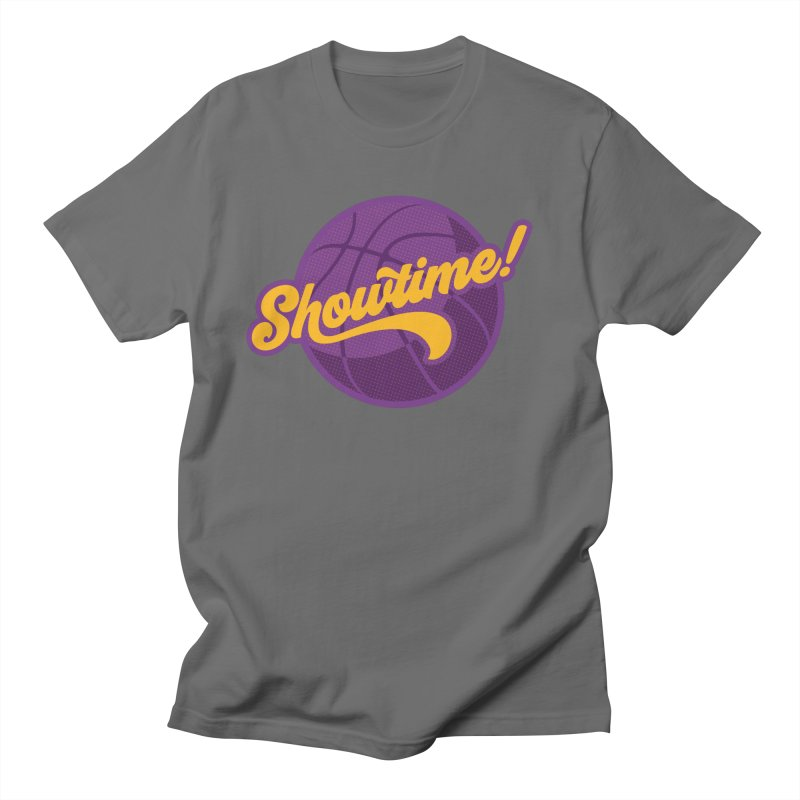 Showtime! Men's T-Shirt by lakersnation's Artist Shop