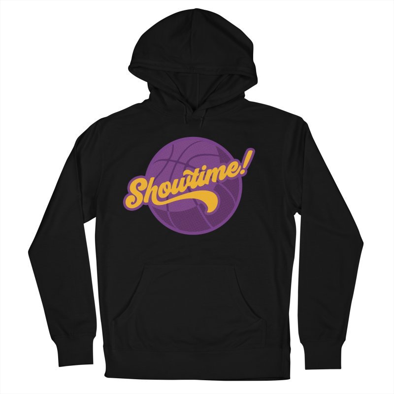 Showtime! Men's French Terry Pullover Hoody by Lakers Nation's Artist Shop