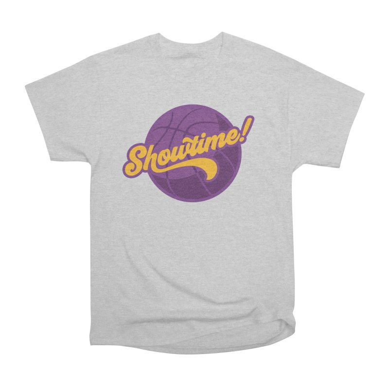 Showtime! Women's Heavyweight Unisex T-Shirt by lakersnation's Artist Shop