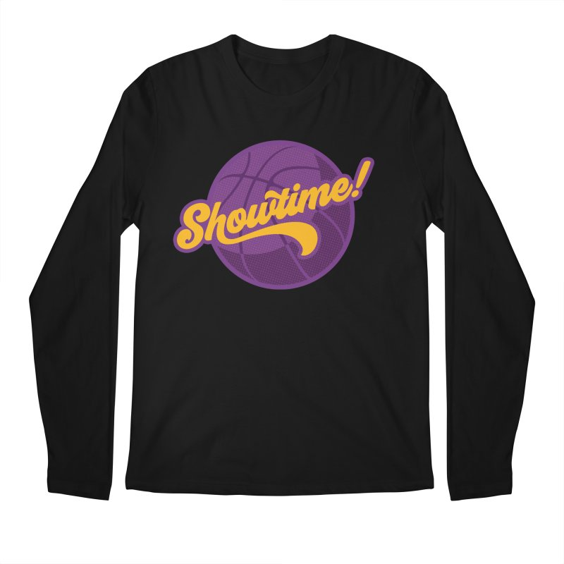 Showtime! Men's Regular Longsleeve T-Shirt by lakersnation's Artist Shop
