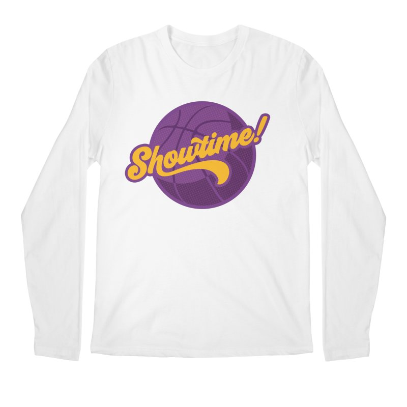 Showtime! Men's Regular Longsleeve T-Shirt by Lakers Nation's Artist Shop