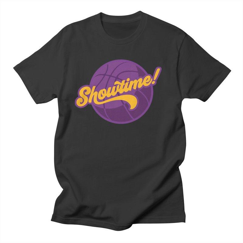 Showtime! Men's T-Shirt by Lakers Nation's Artist Shop
