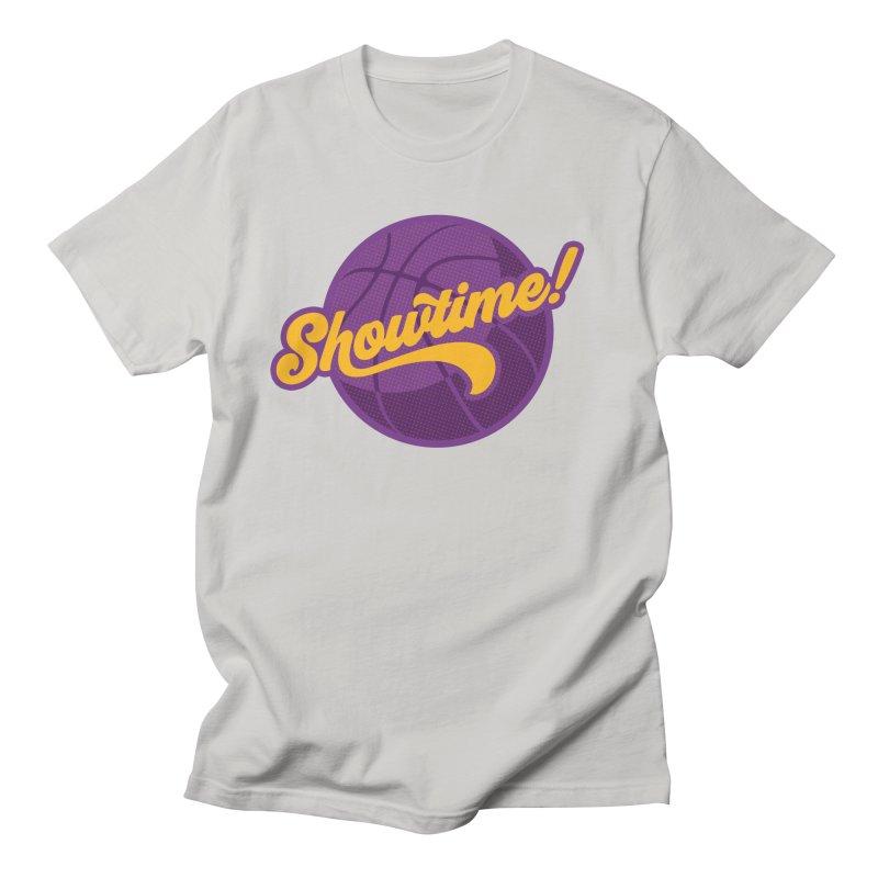 Showtime! Men's Regular T-Shirt by Lakers Nation's Artist Shop