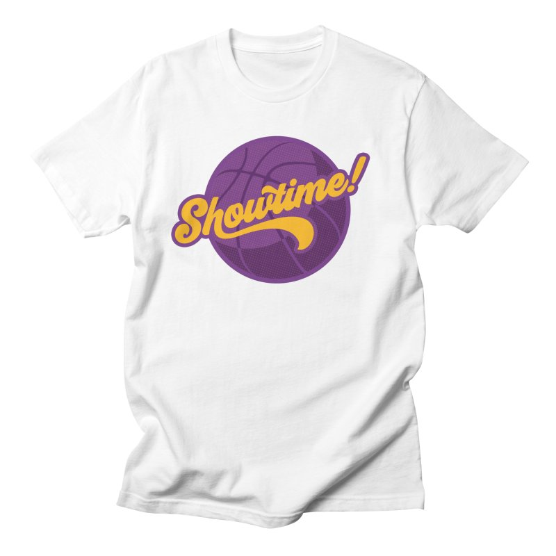 Showtime! Men's Regular T-Shirt by Lakers Nation's Artist Shop