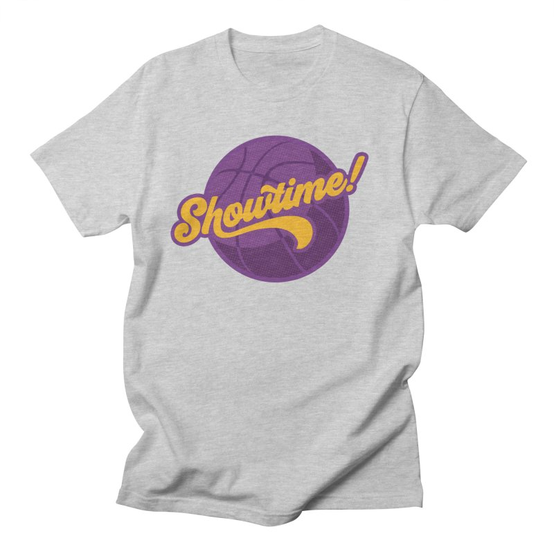 Showtime! Men's T-Shirt by Lakers Nation's Artist Shop
