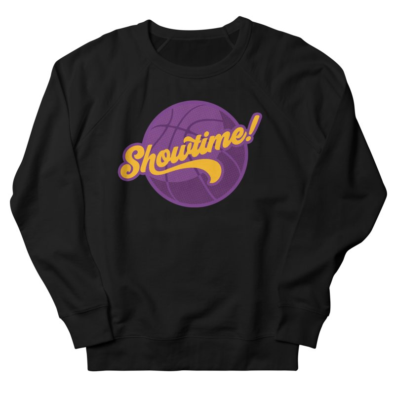 Showtime! Women's French Terry Sweatshirt by Lakers Nation's Artist Shop