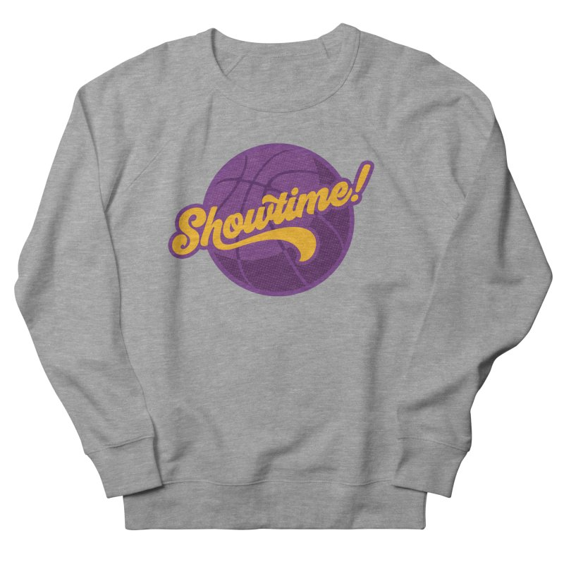 Showtime! Men's French Terry Sweatshirt by lakersnation's Artist Shop