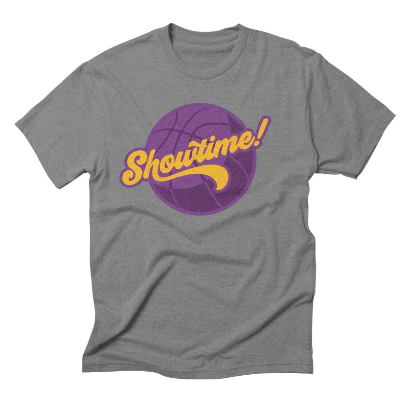 Showtime! Men's Triblend T-Shirt by Lakers Nation's Artist Shop
