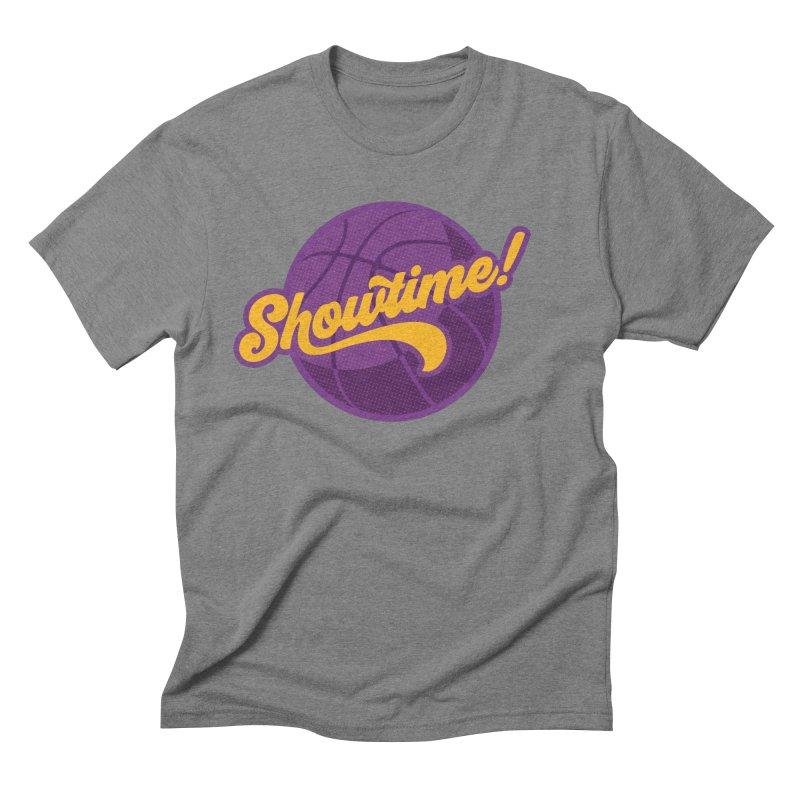 Showtime! Men's Triblend T-Shirt by lakersnation's Artist Shop