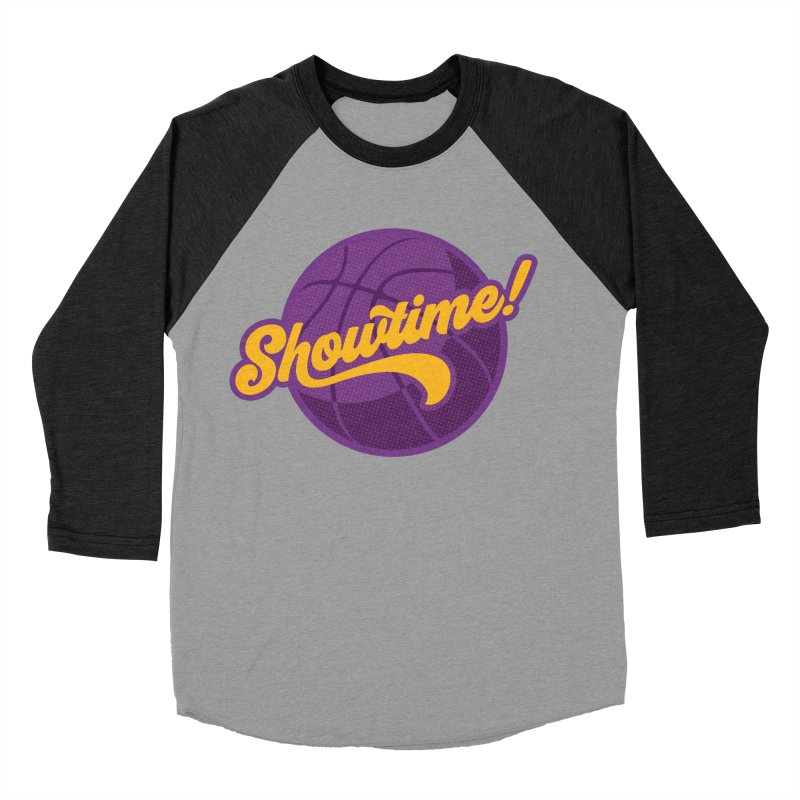 Showtime! Men's Baseball Triblend Longsleeve T-Shirt by lakersnation's Artist Shop