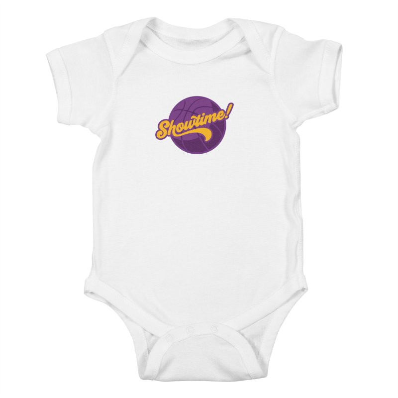 Showtime! Kids Baby Bodysuit by lakersnation's Artist Shop