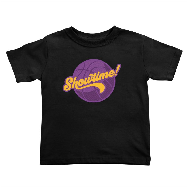 Showtime! Kids Toddler T-Shirt by Lakers Nation's Artist Shop