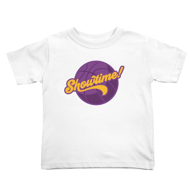 Showtime! Kids Toddler T-Shirt by lakersnation's Artist Shop