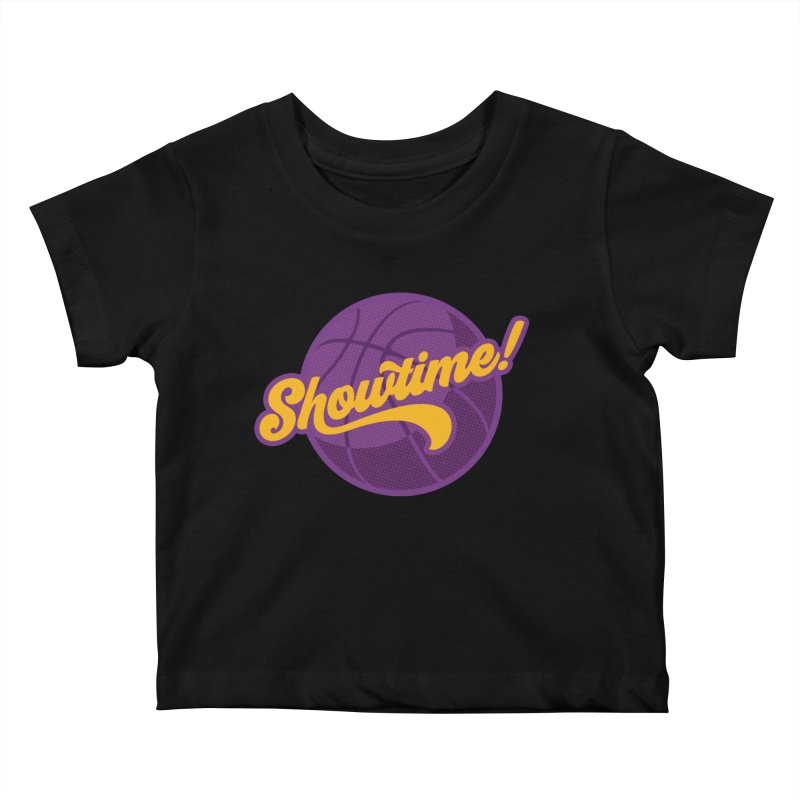 Showtime! Kids Baby T-Shirt by lakersnation's Artist Shop