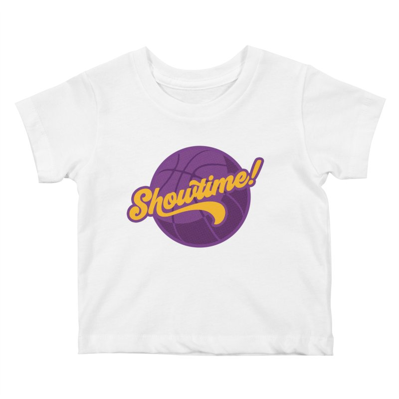 Showtime! Kids Baby T-Shirt by Lakers Nation's Artist Shop