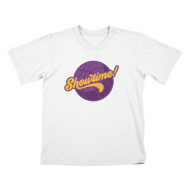 Showtime! Kids T-Shirt by Lakers Nation's Artist Shop