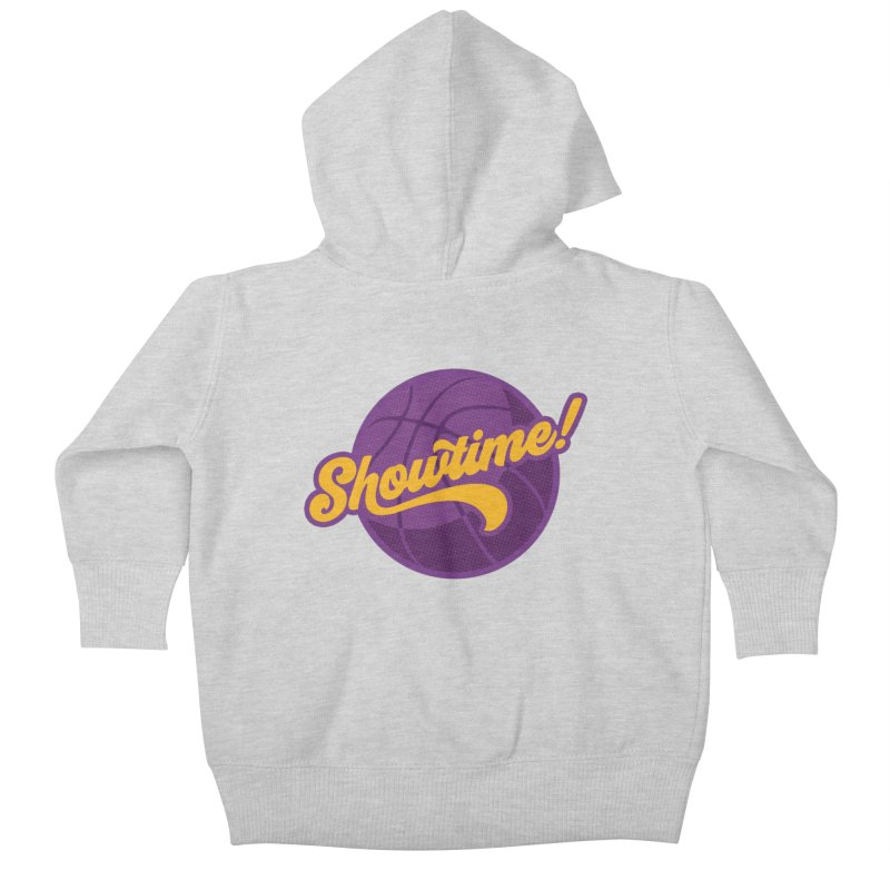 Showtime! Kids Baby Zip-Up Hoody by lakersnation's Artist Shop