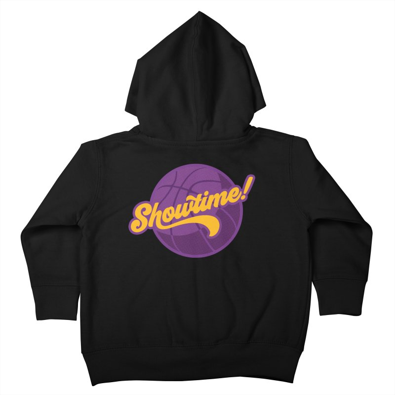 Showtime! Kids Toddler Zip-Up Hoody by Lakers Nation's Artist Shop