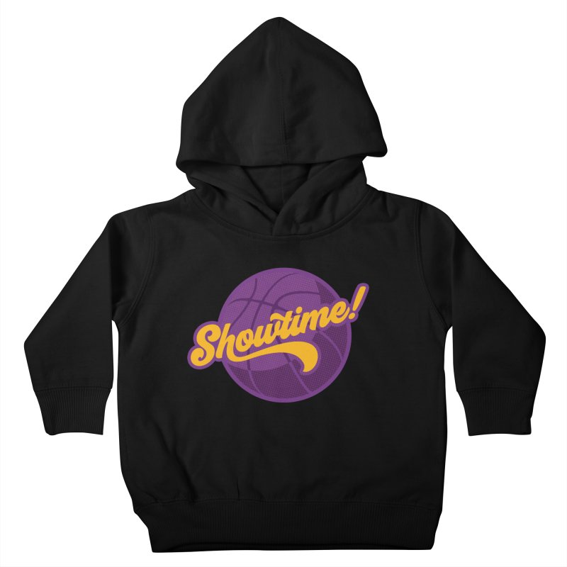 Showtime! Kids Toddler Pullover Hoody by lakersnation's Artist Shop